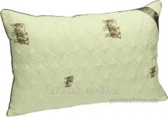 Pillow Sheep Fleece woolen quilted, code: 110456