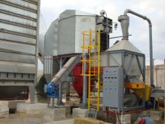 Grain-fired furnace