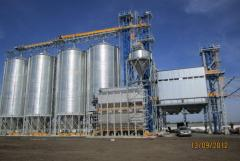 Elevators for grain