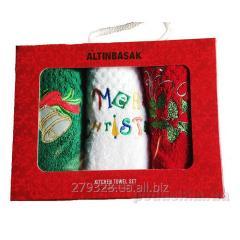 Set New Year's polotenechek Altinbasak Noel