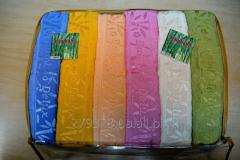 Set of the Hanibaba Bamboo Deluxe terry towels,