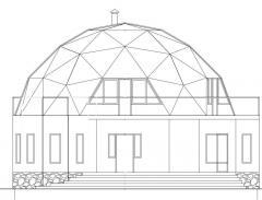 Купольные дома  (круглые дома)