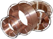 Copperplated wire of Autrod 12.51 continuous