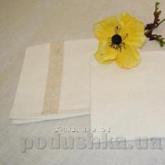Pillowcase of Heppi flax from the bleached flax