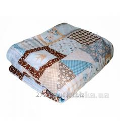 Blanket cover Provence Patchwork blue, code: