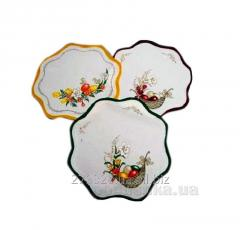 Napkin decorative Easter round, code: 129867