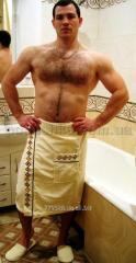 Set for a sauna of man's Nusa 040 cream, a