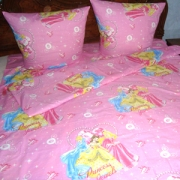 Goods for children: a children's bed set to