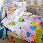 Cradles: a children's bed set in a bed from