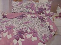 Bedrooms: bed linen coarse calico (harvester).