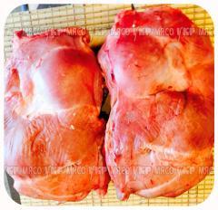 Back part boneless veal