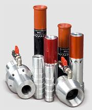 Nozzles abrazivostruyny of RTC tungsten carbide