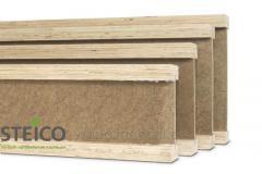 Travi di legno