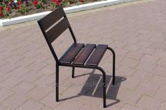 Chair C-Classic-BD Classical (ferrous metal, dark