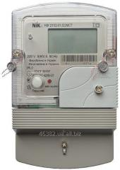 The electric meter is two-tariff: parametrization,