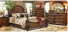 Спальня мебель натуральное дерево