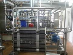 Пастеризационно-охладительная установка ПОУ-КМЗ