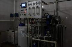 Установка мембранной фильтрации
