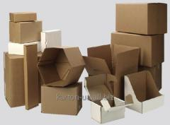 Industrial corrugated packaging