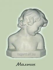 Sculpture bust #1666 / Boy