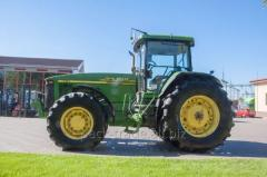 Tractors and farm machinery