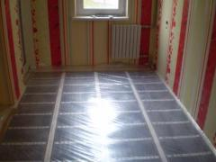 Heat-insulated floor from the company of Teplonog
