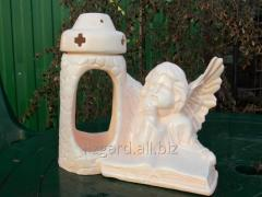 #10136 / the Icon lamp the Angel reading (a