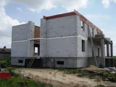 Construction of houses, cottages, buildings -