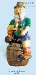 Sculpture garden #1022 / the Gnome on a flank *