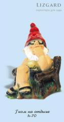 Decorative sculptures for сада#1024 / the Gnome on