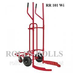 The cart for transportation of car tires of RR of