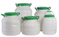 Barrel of food plastic 30 l, 40 l, 50 l, 60 l
