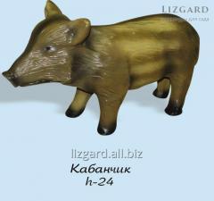 Фигуры животных декоративные #1111 / Кабанчик*