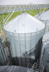 Flat-bottomed silo of OBIAL