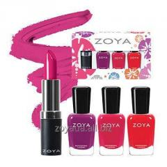 Gift set Sunset - Summer cream lacquer miniature