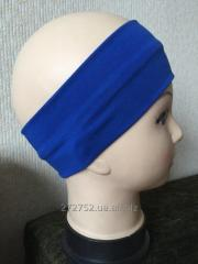 Sports bandage on the head