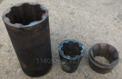 Plugs of shnekovy press, extruders