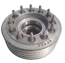 Шкив двигателя (9-ти ручейный) в сборе