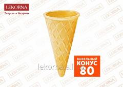 """Wafer """"Cone 80"""", sweet, 400"""