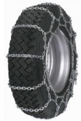 Antisliding chains for trucks (snow chains on
