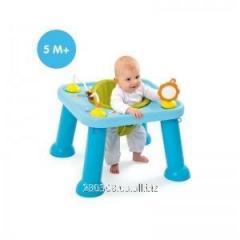 Детский столик-трансформер smoby голубой