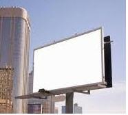 Advertizing structures: big-borda, banners, Stella