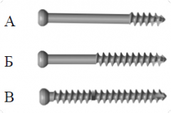 Spongiozny screw of 6,5 mm, screws spongiozny Kiev