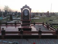 Monuments from granite, Korostishev