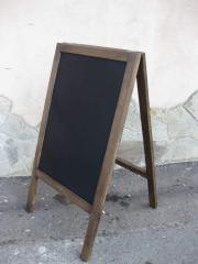 Cretaceous pavement sign, cretaceous board of the