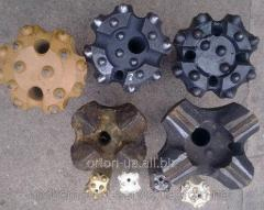Drill bits knsh-110, knsh-40, to-41, pneumatic impact tools p-110 2.8 3.2