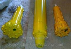 Pneumatic impact tools, crowns of import production D-110,125,130,SOR-44,54