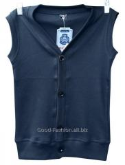 Vest on the boy of blue 6-12 years 2946