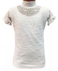 American blouse of white 8-14 years 3003