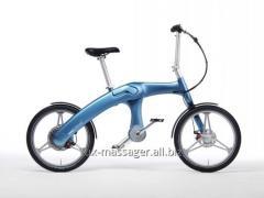 Hybrid Mando Footloose bicycle light-blue 20